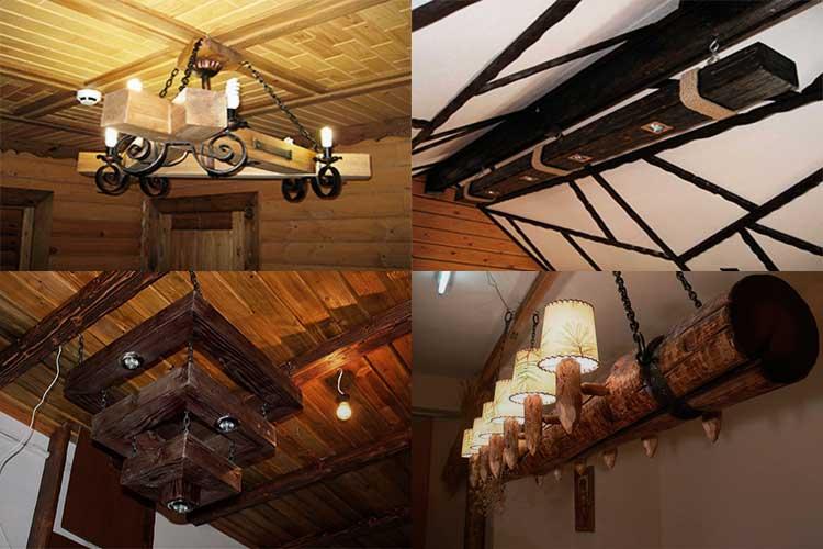 lyustry-iz-dereva Светильник из деревянных брусков