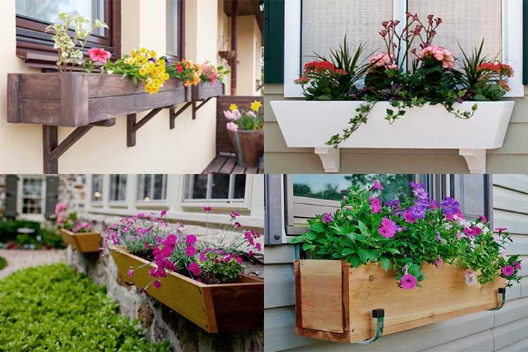 Как сделать деревянный ящик для цветов своими руками