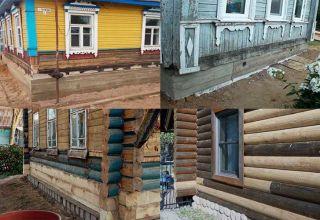 Основные этапы ремонта деревянного дома