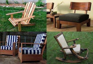 Способы изготовления самодельного кресла из дерева