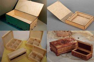 Деревянные шкатулки своими руками: от простого к сложному