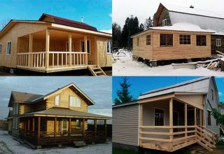Особенности и этапы возведения пристроя к деревянному дому