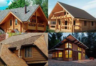 Крыши у деревянных домов: их виды и этапы возведения