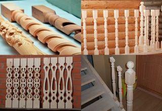Как сделать и установить деревянные балясины