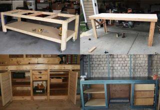 Как сделать деревянный столярный верстак