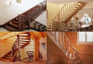Виды и самостоятельный монтаж деревянных лестниц