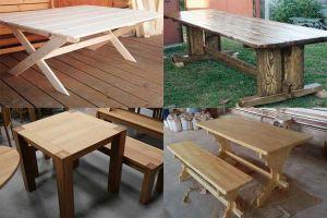 Деревянный стол своими руками: секреты домашнего мастера