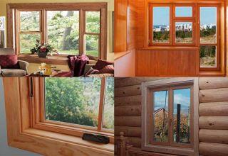 Этапы установки деревянных окон