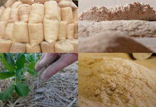 Как производят и применяют древесную муку