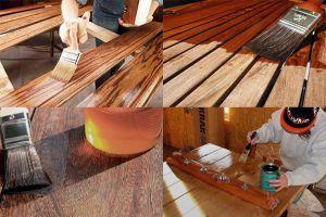 Правила лакировки деревянной поверхности