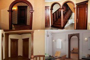 Особенности изготовления деревянных арок