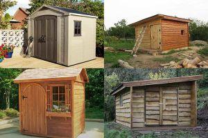 Варианты строительства деревянного сарая