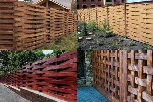 Деревянный забор: надёжная защита и декоративное оформление приусадебного участка