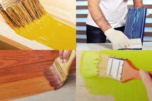 Выбор краски по дереву без запаха для внутренних работ