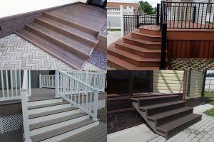 Нюансы строительства лестницы из террасной доски