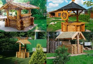 Основные этапы строительства колодца из дерева