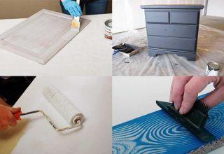 Подходящие краски для мебели из ДСП