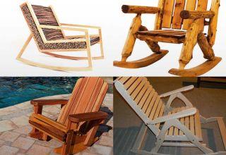 Изготовление кресла-качалки