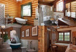 Санузел в деревянном доме: от планировки до отделки
