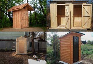 Деревянный туалет для дачи: виды и этапы строительства